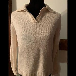 Carolyn Taylor cream sweater
